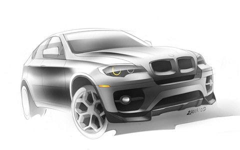 BMW X6 Interceptor by Met R 16