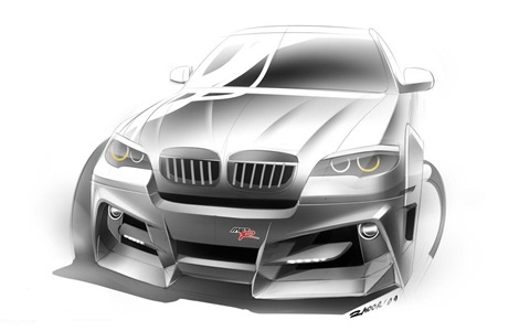 BMW X6 Interceptor by Met R 17