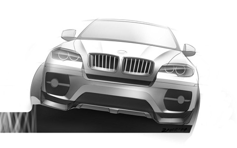 BMW X6 Interceptor by Met R 18