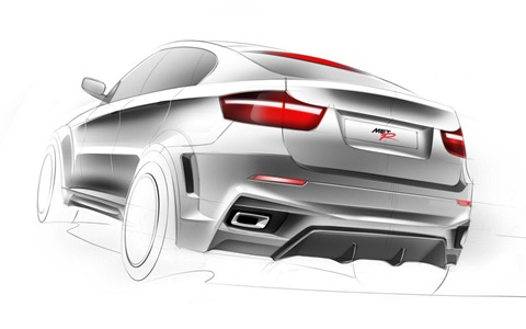 BMW X6 Interceptor by Met R 20