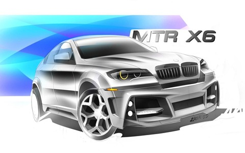 BMW X6 Interceptor by Met R 21