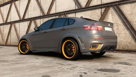 BMW X6 Interceptor by Met R 31