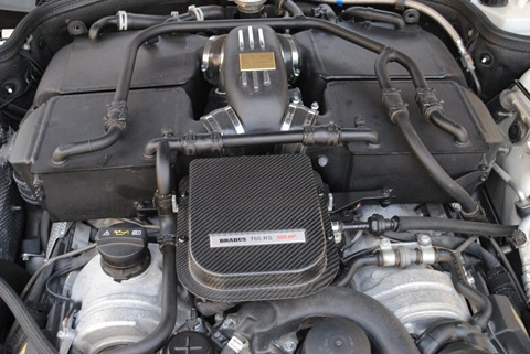 Brabus Stealth 65 based on Mercedes SL65 Black Series 2