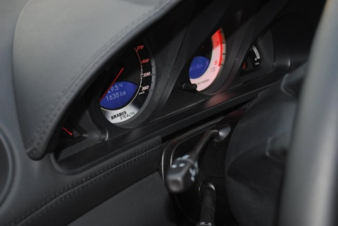 Brabus Stealth 65 based on Mercedes SL65 Black Series 3