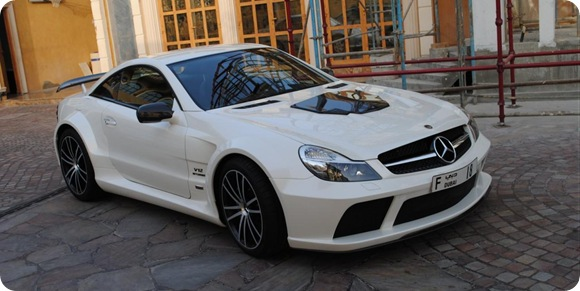 Brabus Stealth 65 based on Mercedes SL65 Black Series 5