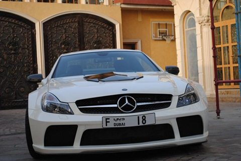 Brabus Stealth 65 based on Mercedes SL65 Black Series 6