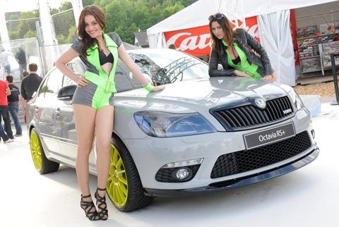 Skoda Octavia RS , GTI Wörthersee tuning event
