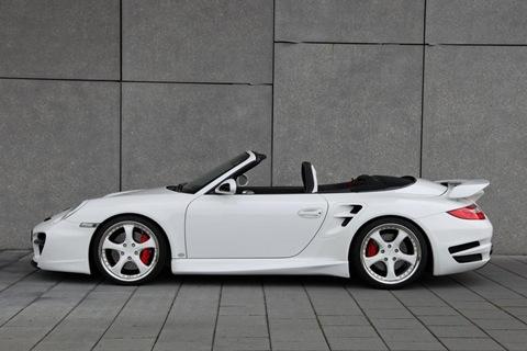 TechArt Aerodynamic Kit II for Porsche 911 Turbo 8