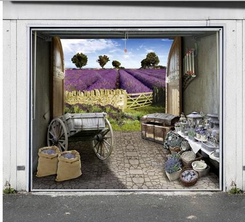 garage photo mural samples 11