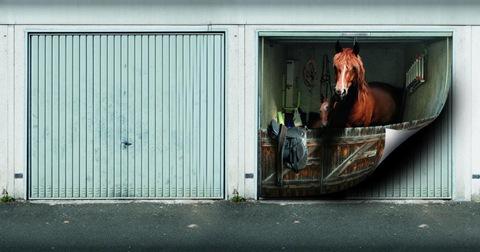 garage photo mural samples 1
