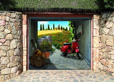 garage photo mural samples 30