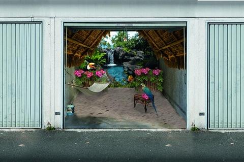 garage photo mural samples 3