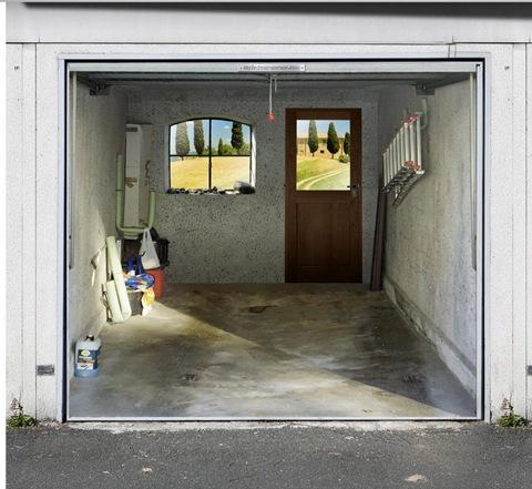 garage photo mural samples 6