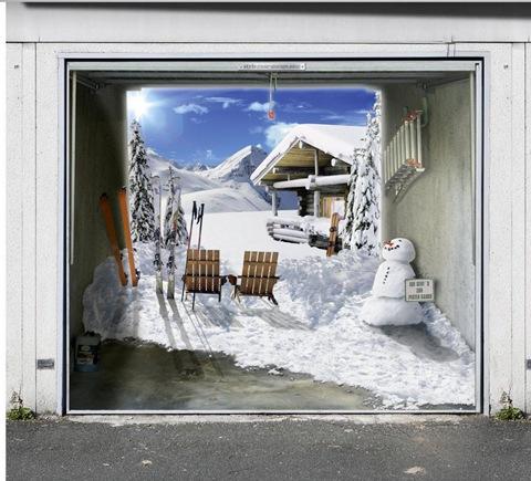garage photo mural samples 7