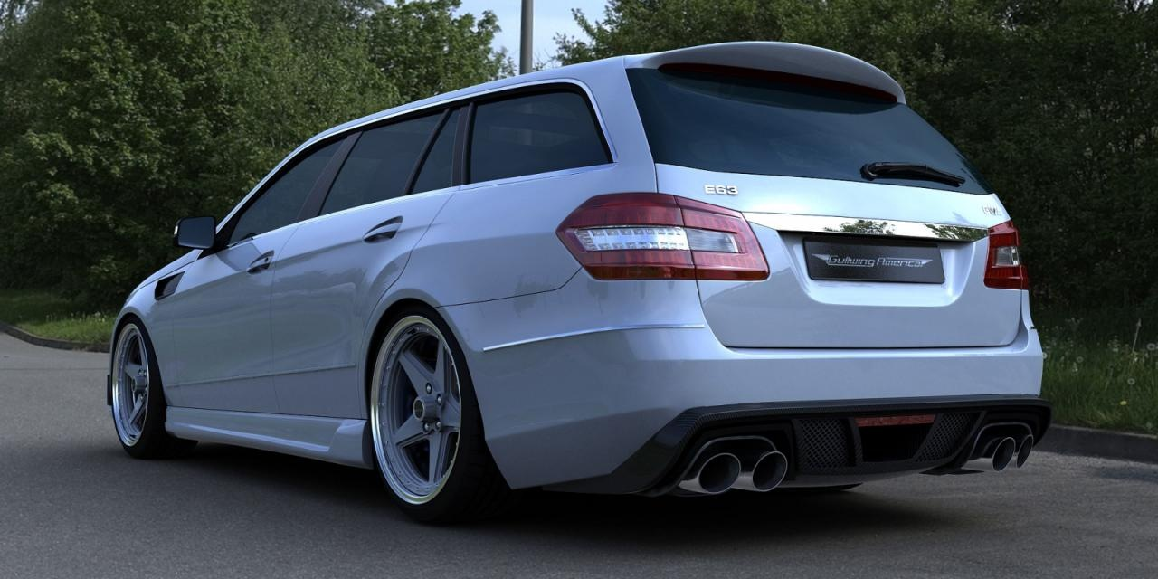 gwa tuning mercedes e63 amg wagon 2011. Black Bedroom Furniture Sets. Home Design Ideas