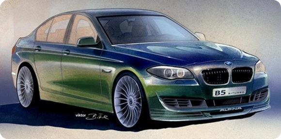 BMW Alpina B5 BiTurbo F10 teaser