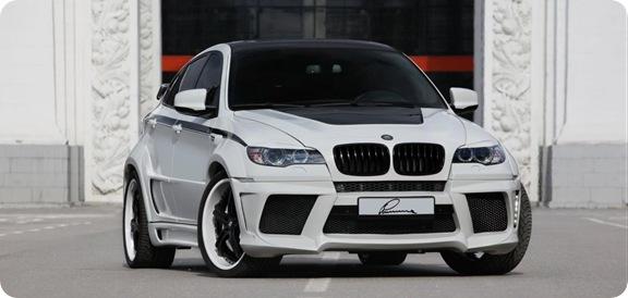 Lumma CLR X 650 based on BMW X6 5