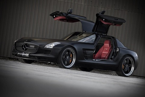 Mercedes SLS AMG Black Edition by Kicherer 1