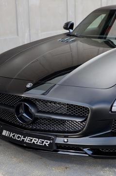 Mercedes SLS AMG Black Edition by Kicherer 3