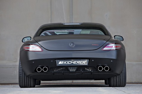 Mercedes SLS AMG Black Edition by Kicherer 7