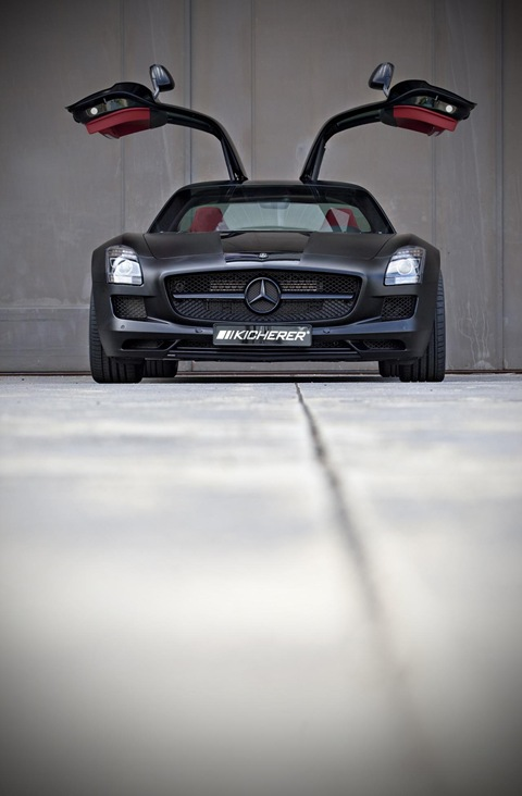 Mercedes SLS AMG Black Edition by Kicherer 8