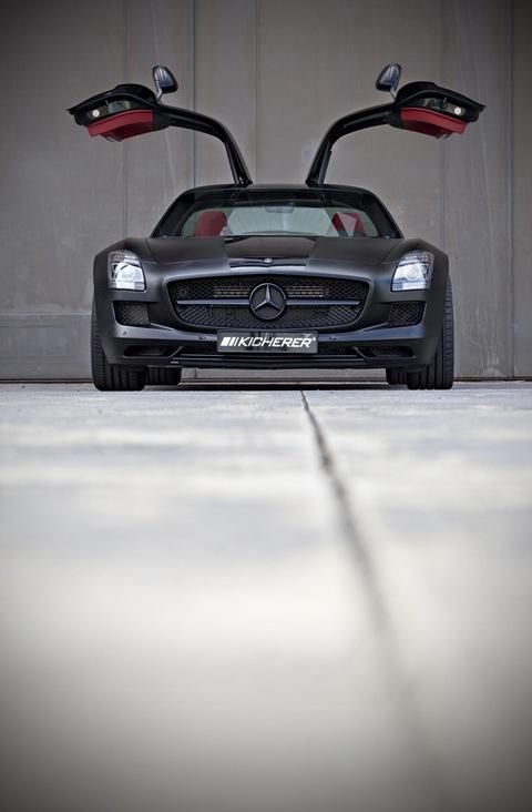 Mercedes SLS AMG Black Edition by Kicherer 8
