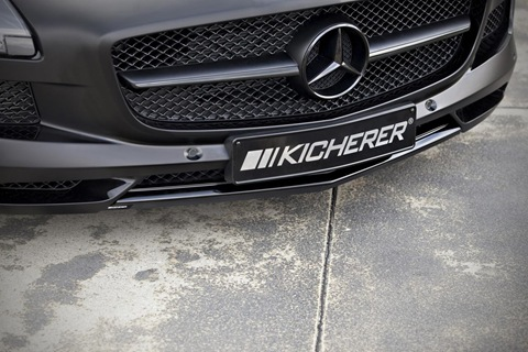 Mercedes SLS AMG Black Edition by Kicherer 9