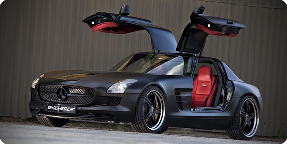 Mercedes SLS AMG Black Edition by Kicherer