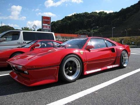 Nakamura Racing's Ferrari 308 GTO 2