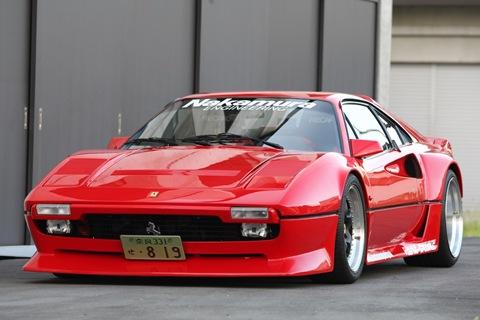 Nakamura Racing's Ferrari 308 GTO