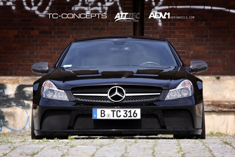 TC-Concepts Mercedes SL65 AMG Black Series (1)