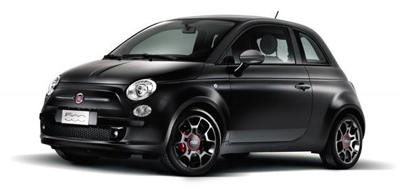 Fiat 500 Blackjack Special Edition