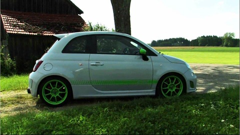 G-Tech RS-S tuning kit for Abarth 500 1
