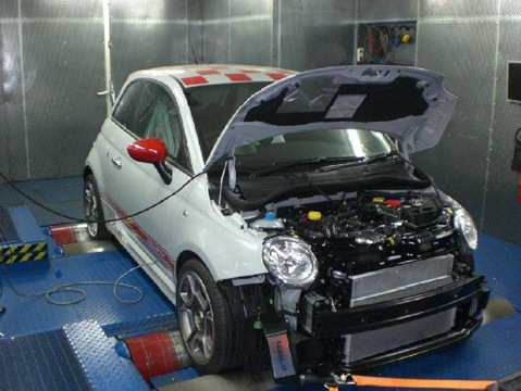 G-Tech RS-S tuning kit for Abarth 500 6