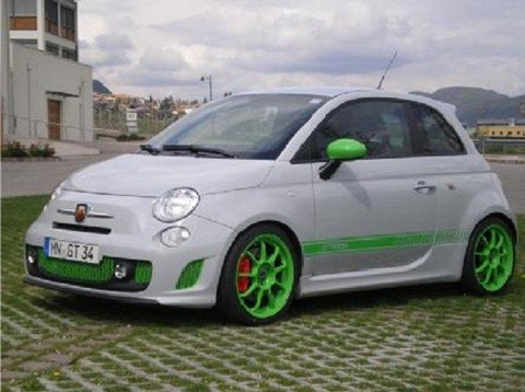G-Tech RS-S tuning kit for Abarth 500 9