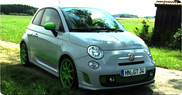G-Tech RS-S tuning kit for Abarth 500