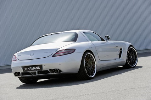 Hamann appearance package for Mercedes SLS AMG 1