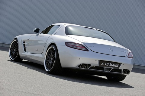 Hamann appearance package for Mercedes SLS AMG 3