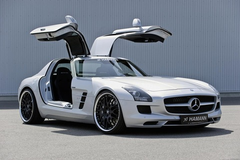 Hamann appearance package for Mercedes SLS AMG 5