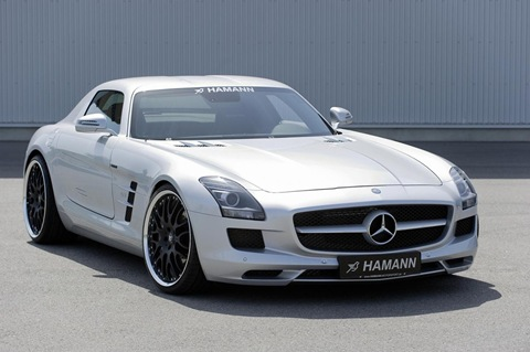 Hamann appearance package for Mercedes SLS AMG 6