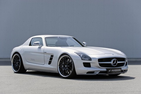 Hamann appearance package for Mercedes SLS AMG 7