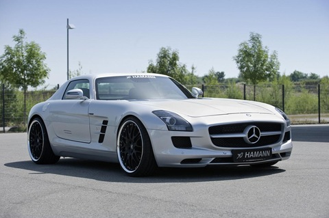 Hamann appearance package for Mercedes SLS AMG 8
