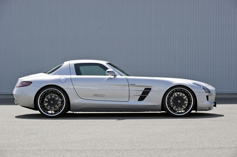 Hamann appearance package for Mercedes SLS AMG 9