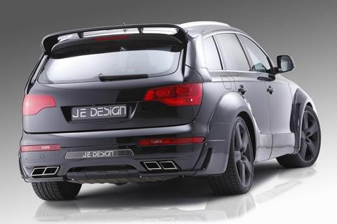 JE Design Q7 S-line widebody