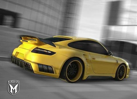 Porsche 911 Turbo body kit by Misha Design 2