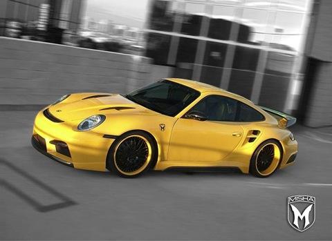 Porsche 911 Turbo body kit by Misha Design3