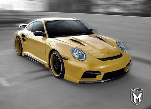 Porsche 911 Turbo body kit by Misha Design