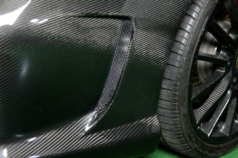 Porsche 997 Carbon Dry Japan