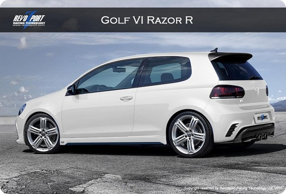 REVOZPORT VW Golf VI Razor R 1