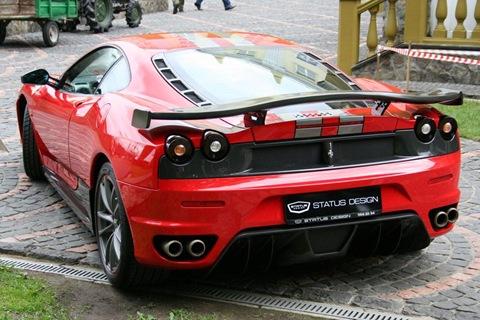 Status Design Studio SD SU35 tuning kit for Ferrari 430 16